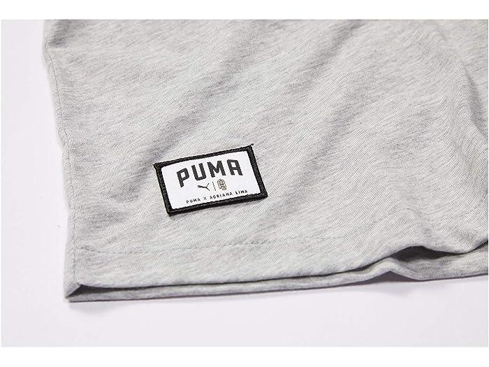 Puma Al Loose Tank Light Grey Heather