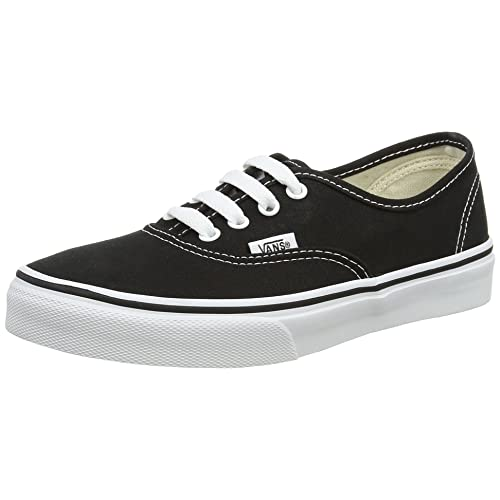 f1d39df88d6ee Kids Black Vans: Amazon.com