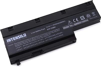 INTENSILO Li-Ion Akku 6000mAh  14 4V  f r Notebook Laptop Medion Akoya E7211  E7212  E7214  E7216  MD97288  MD97437 wie BTP-D5BM  40029778  u a