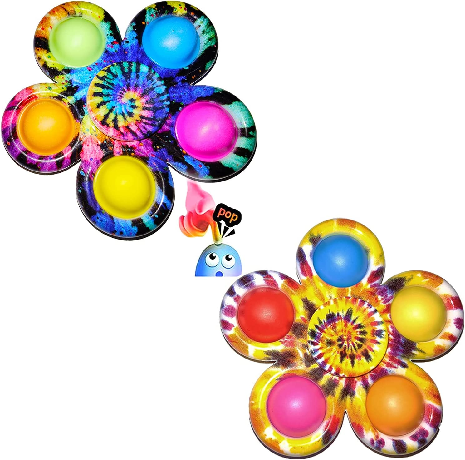 BestTime Mini Pop Fidget Spinners Simple price Pus Max 77% OFF Dimple Toy