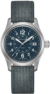 Hamilton Khaki Field Blue Dial Nylon Strap Men's Watch H68201943