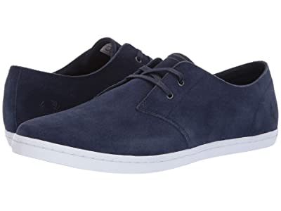 Fred Perry Byron Low Suede (Carbon Blue/Navy) Men