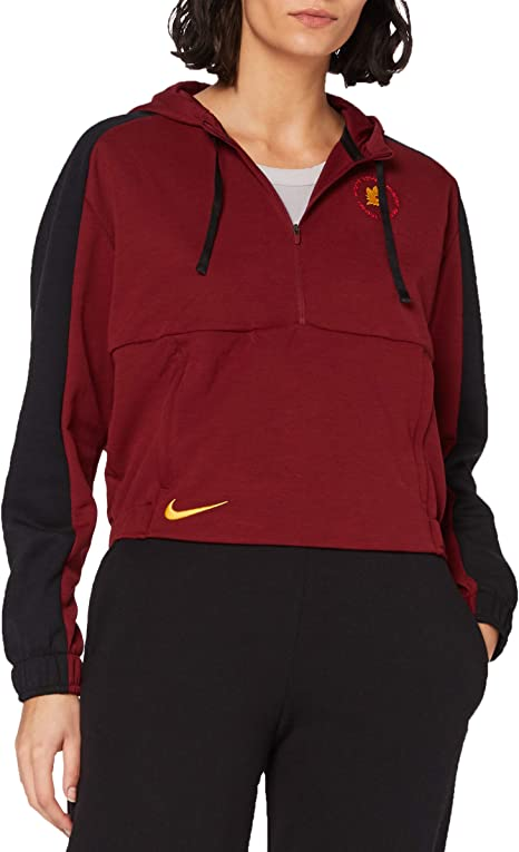 Nike Roma W Nk Dry Hoodie Po Felpa Donna