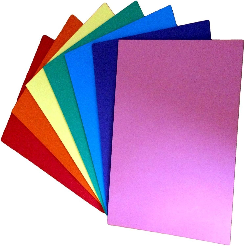 HAUS der KARTE und PAPIERS DHKP028 A2 Gute Qualität Karte, regenbogen farbige B01MT8FN14   | Schöne Farbe