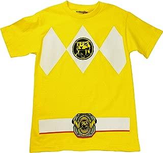Power Rangers Mighty Morphin Yellow Ranger Costume T-Shirt