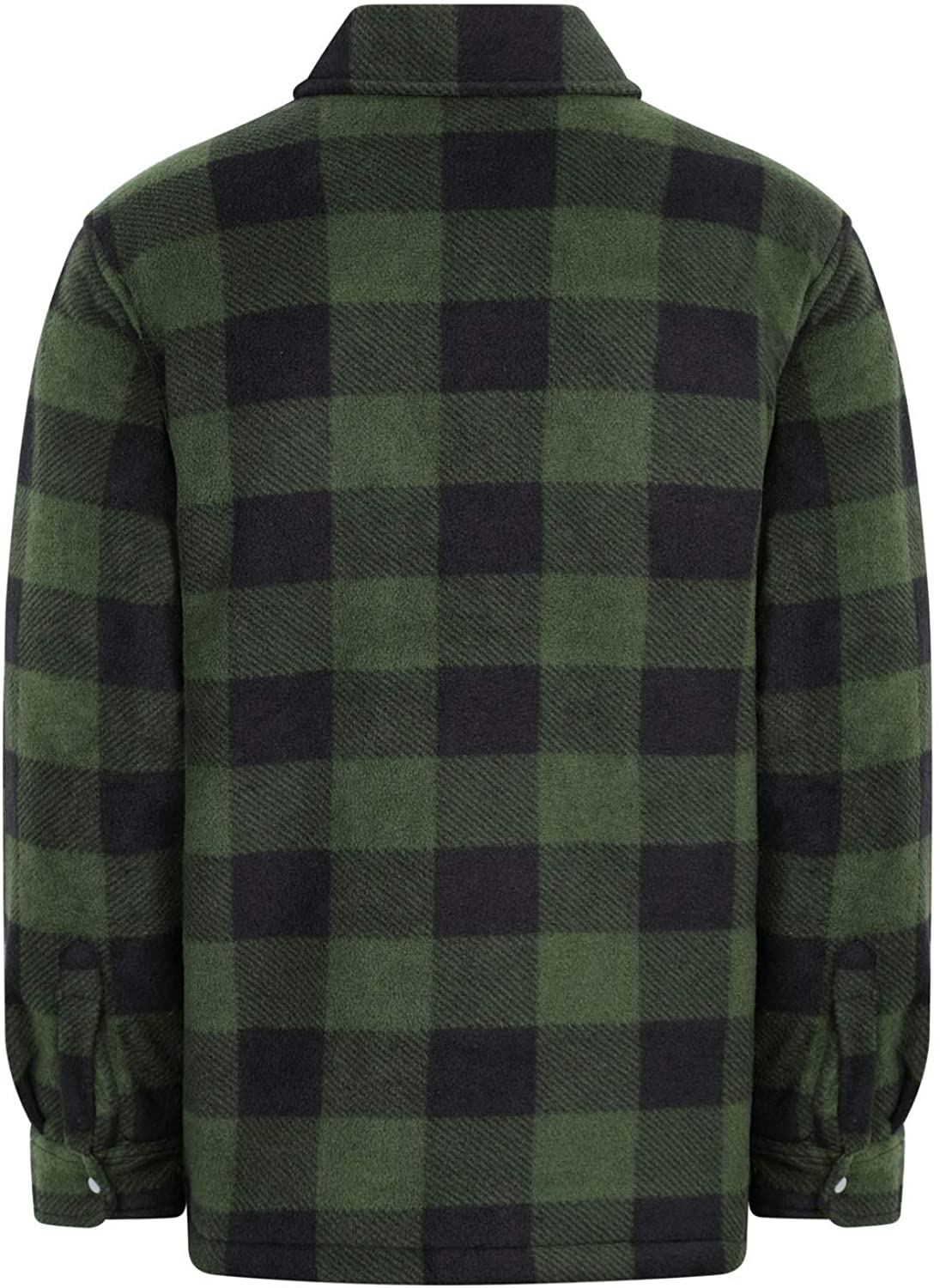 Champion Mens Kinross Fleece Padded Lumberjack Style Shirt