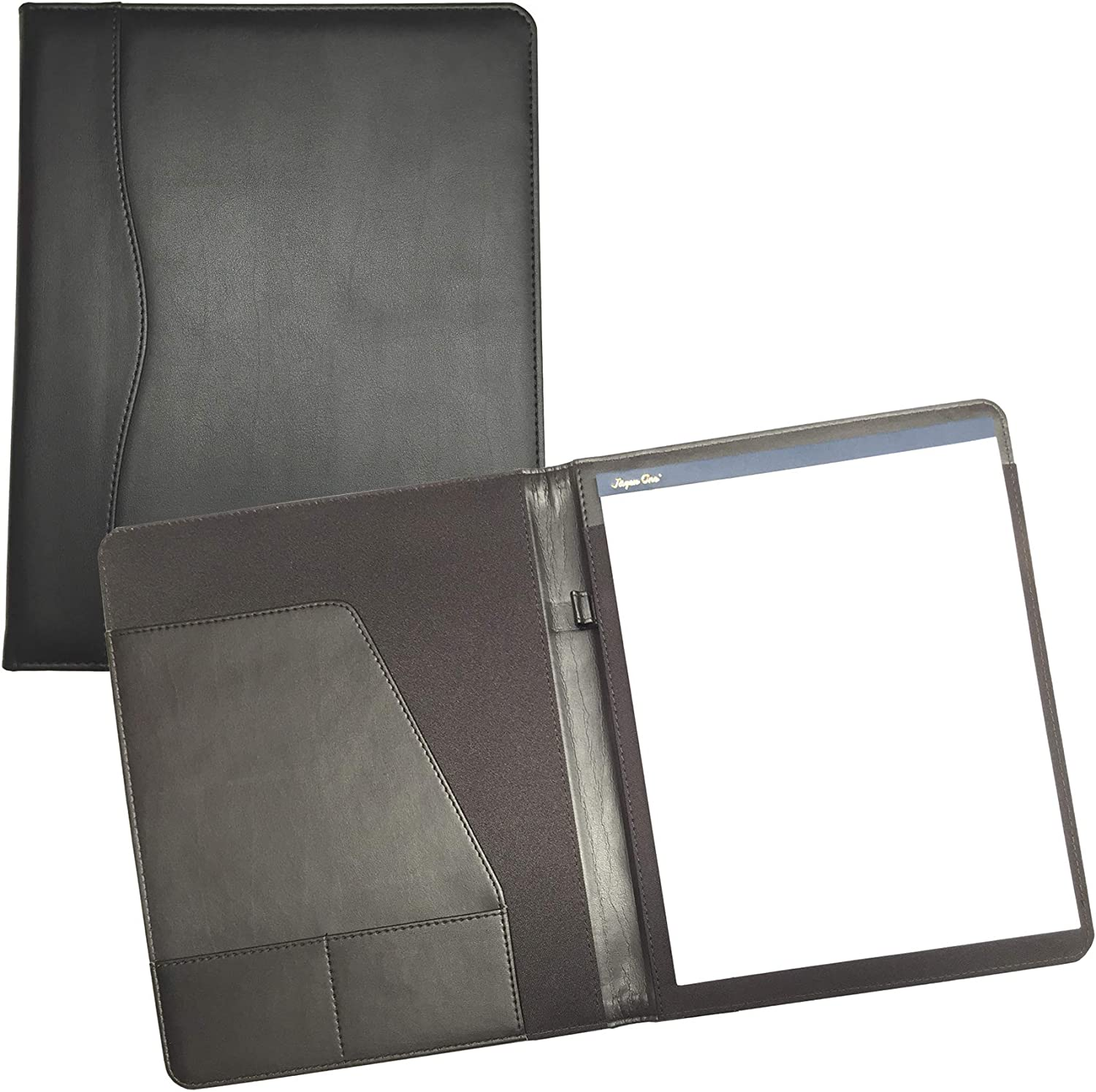 Fees free!! Professional Padfolio Organizer with Letter R Note pad Included Sale special price