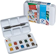 Van Gogh Watercolour Pocket Box - 12 Pan - Art Supplies