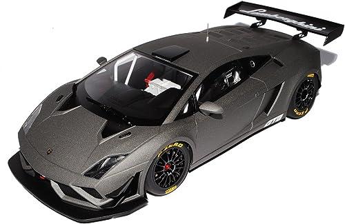 AUTOart Lamborghini Gallardo GT3 FL2 Coupe Matt Grau 81360 1 18 Modell Auto mit individiuellem Wunschkennzeichen