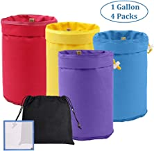 Y YOOMALL Bubble Bags 1 Gallon 4-Pack, Herbal Ice Bubble Hash Bag Essence Extractor Kit, Free with Pressing Screen and Storage Bag