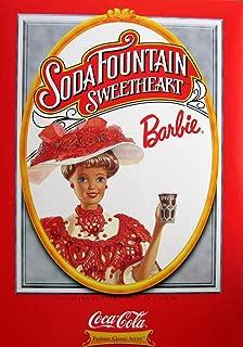 Barbie Mattel Soda Fountain Sweetheart Coca Cole 1st