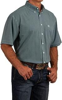 Men's Multi Check Plaid Short Sleeve Western Shirt