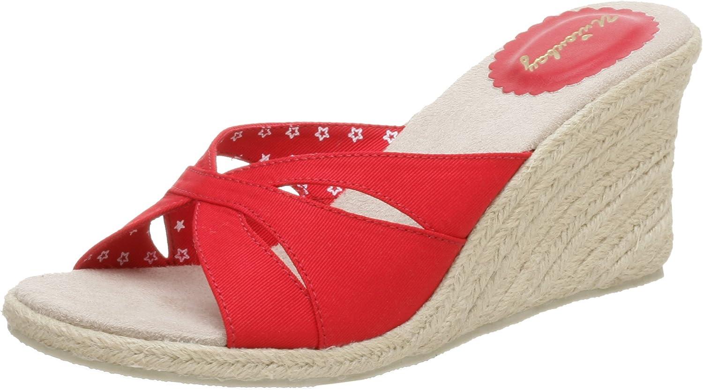 UNIONBAY Women's Faille Slide Wedge Sandal