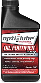 Opti-Lube Oil Fortifier w/ ZDDP Additives (8 Ounce