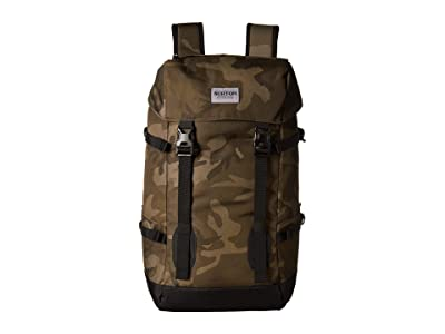 Burton Tinder 2.0 Backpack (Worn Camo Print) Backpack Bags