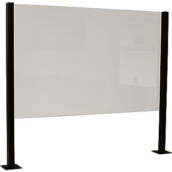 Mampara de protección | separador para restaurantes, bares, hosteleria (50x150cm): Amazon.es: Oficina y papelería