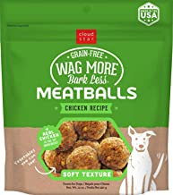 Cloud Star Wag More Bark Less, Soft Meatballs, Grain Free Dog Treats, Baked in the USA