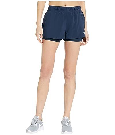 Nike Flex Shorts (Obsidian/Obsidian/White) Women