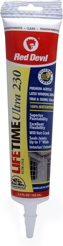 Red Devil 0705 Sale SALE% OFF Lifetime Ultra Elastomeric Latex Max 61% OFF Premium Acrylic