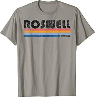 Vintage 1980s Style Roswell New Mexico T-Shirt