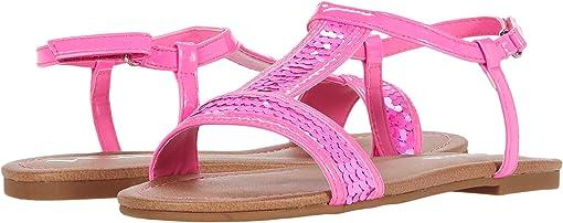 Neon Pink Sequins