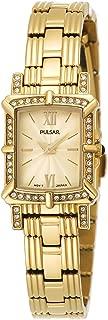 Pulsar Women's PEGD40 Swarovski Crystal Collection Gold-Tone Watch