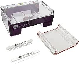 Galileo Bioscience 80-1214 RapidCast Horizontal Mini Gel Electrophoresis System 12cm W x 14cm L Gel Size