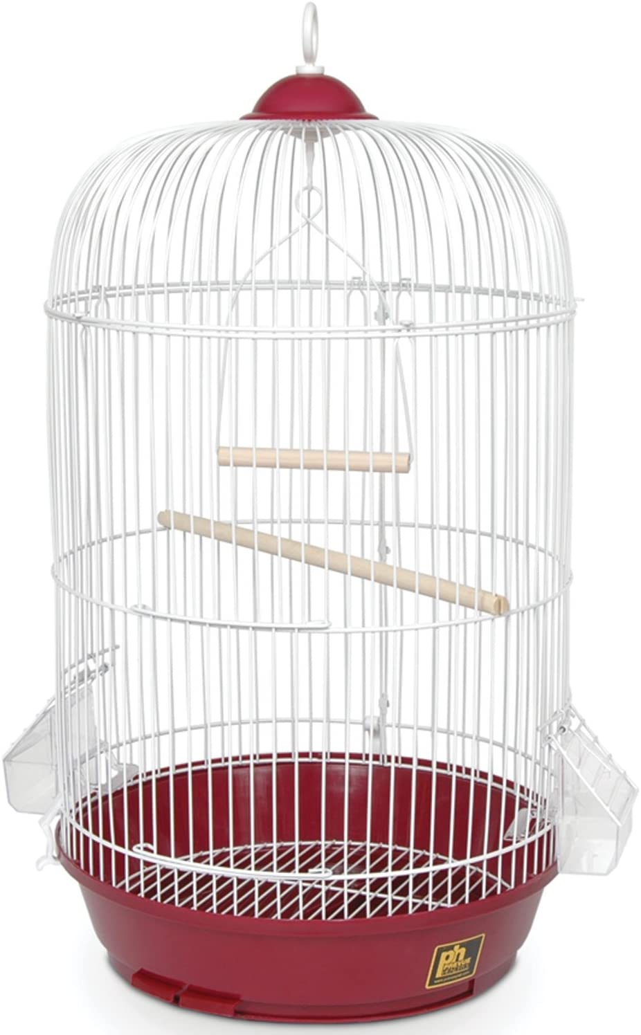 Prevue Hendryx Classic Round NEW before selling Bird OFFer Cage 1 SP31999R Red 2