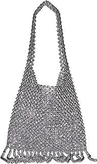 Cher Beaded Shoulder Bag with Fringe