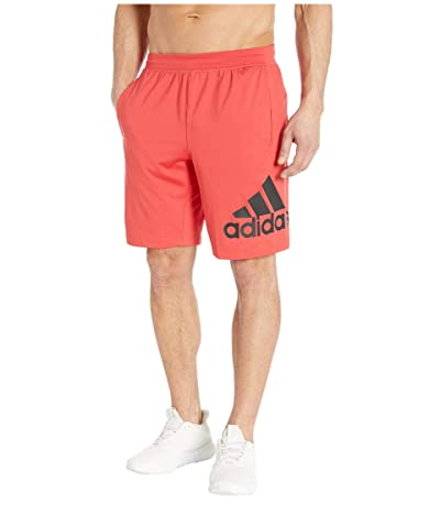 adidas 4KRFT 9 Badge of Sport Shorts (Glory Red) Men