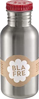 Blafre - Stainless Recycled Steel Bottle 500ml, Red - Classic design and a super way to avoid throwaway plastic, 4575