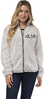 Alpha Kappa Delta Phi Full Zip Sherpa Jacket