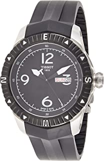 Tissot Mens Automatic Watch, Analog Display and Plastic Strap T062.430.17.057.00