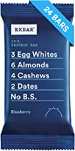 RXBAR, Blueberry, Protein Bar, 1.83 Ounce (Pack of 24) Breakfast Bar, High Protein Snack