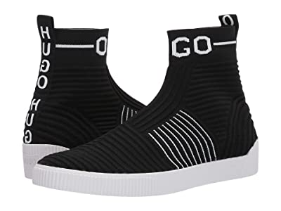 BOSS Hugo Boss Zero Hito Sock Sneakers by HUGO (Black) Men