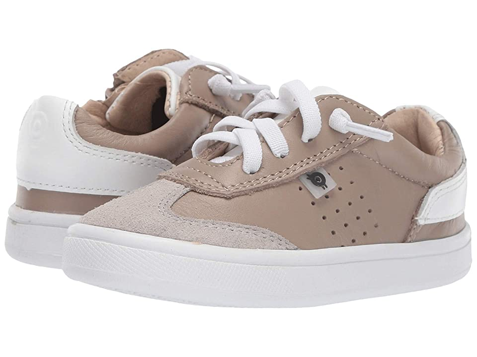 Old Soles Byron Bay (Toddler/Little Kid) (Taupe/Snow) Boy