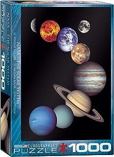 Eurographics 1000pcs - NASA The Solar System
