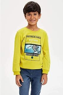 DeFacto Hologram Baskılı Sweatshirt