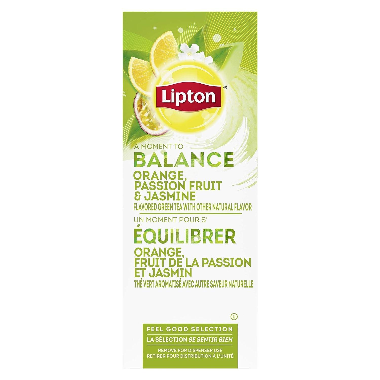 Gorgeous Lipton Green with Orange Passion and Jasmine Ho New product type Fruit Enveloped