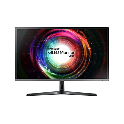 """Premium Samsung 28"""" 4K UHD (3840 x 2160) Widescreen Quantum-Dot QLED Gaming/Professional Business Monitor - AR 16:9 Response 1ms Response Time 1.07B Color Support Game Mode FreeSync + iCarp HDMI Cable"""