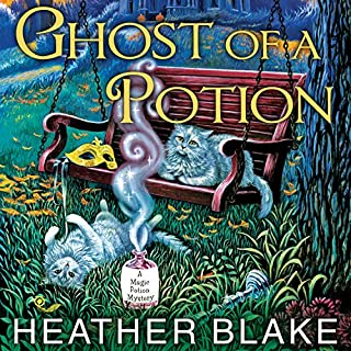 Ghost of a Potion     Magic Potion Mystery Series #3              By:                                                                                                                                 Heather Blake                               Narrated by:                                                                                                                                 Carla Mercer-Meyer                      Length: 9 hrs     291 ratings     Overall 4.6