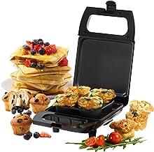 Mini-appareil à bouchées 2-en-1 compact Giles & Posner® EK4488GVDEEU7, 600W, Plaque de cuisson antiadhésive, 50ml, Faire ...