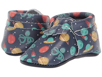 Freshly Picked Soft Sole City Moccasins Out of This World (Infant/Toddler) (Martians) Boy