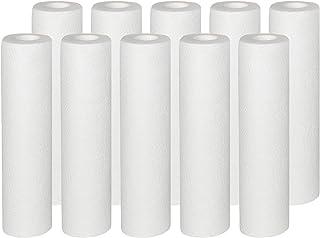 Vyair - Lot de 10 cartouches sédiment 10 micron - Cartouches de filtre à eau pour osmose, pour éliminer le sable, le limo...