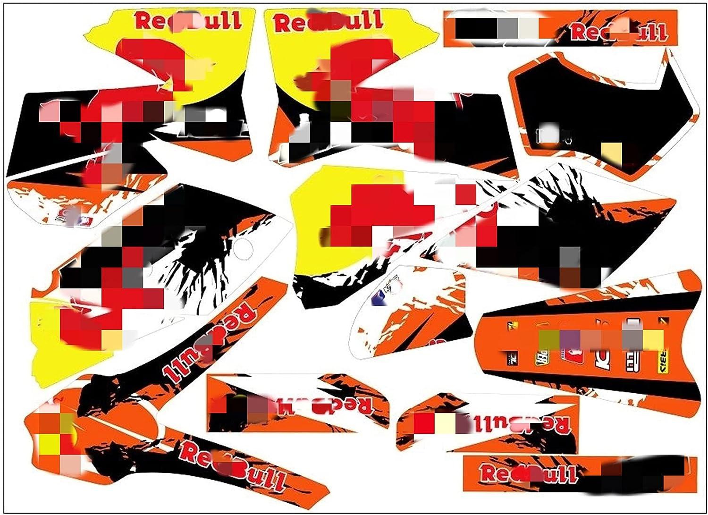 Tatumyin MDJC005-3 Cheap bargain Customized Mesa Mall 3M Decals Stickers Motorcycle Grap
