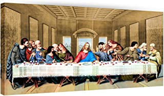 Eliteart- Jesus Christ The Last Supper by Leonardo da Vinci Giclee Art Canvas Prints Home Decor 24