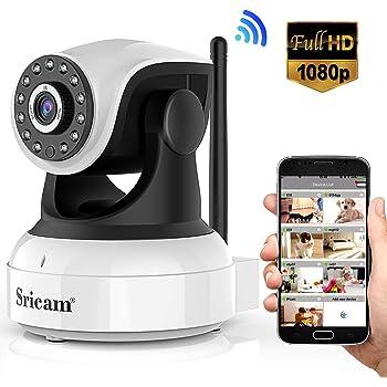 Sricam Ultima versión SP017 Cámara WiFi interior de vigilancia ...