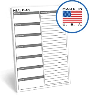 grocery list notebook