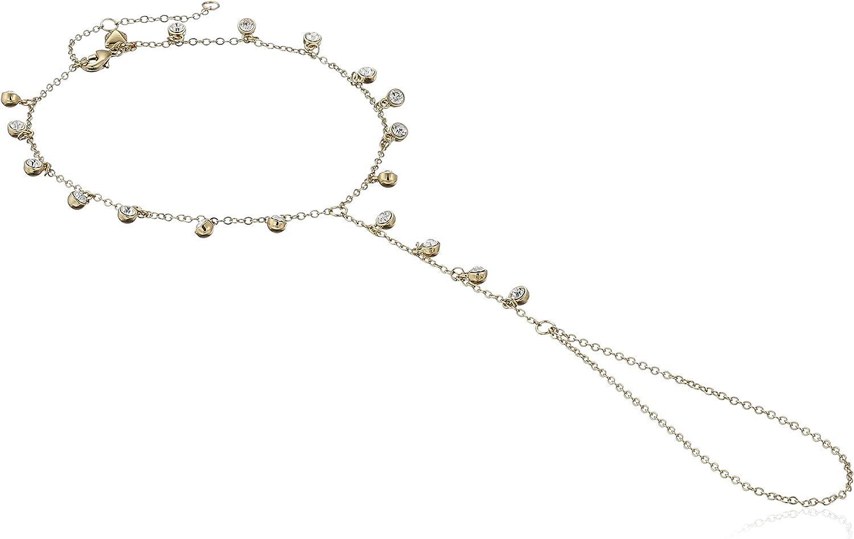 Rebecca Minkoff Crystal Foot Chain Body Jewelry