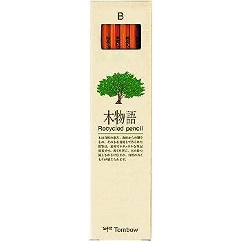 トンボ鉛筆 鉛筆 木物語 B 1ダース LA-KEAB